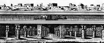 dessin du labyrinthe d'hawara