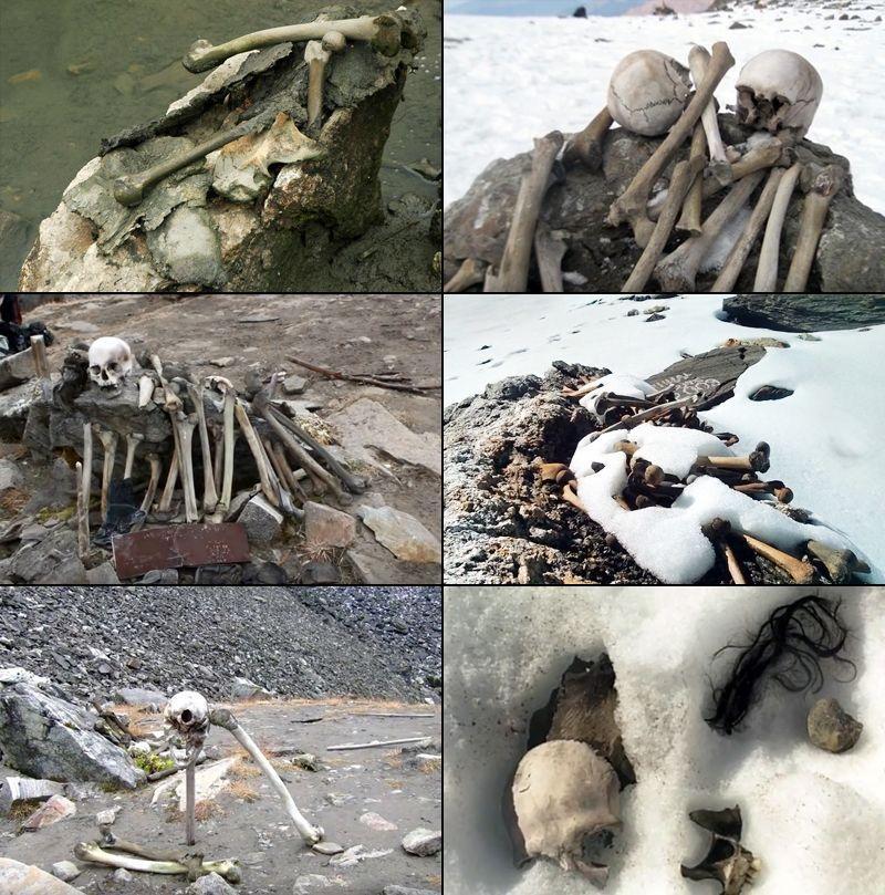 ossements humains retrouvés au lac Skeleton