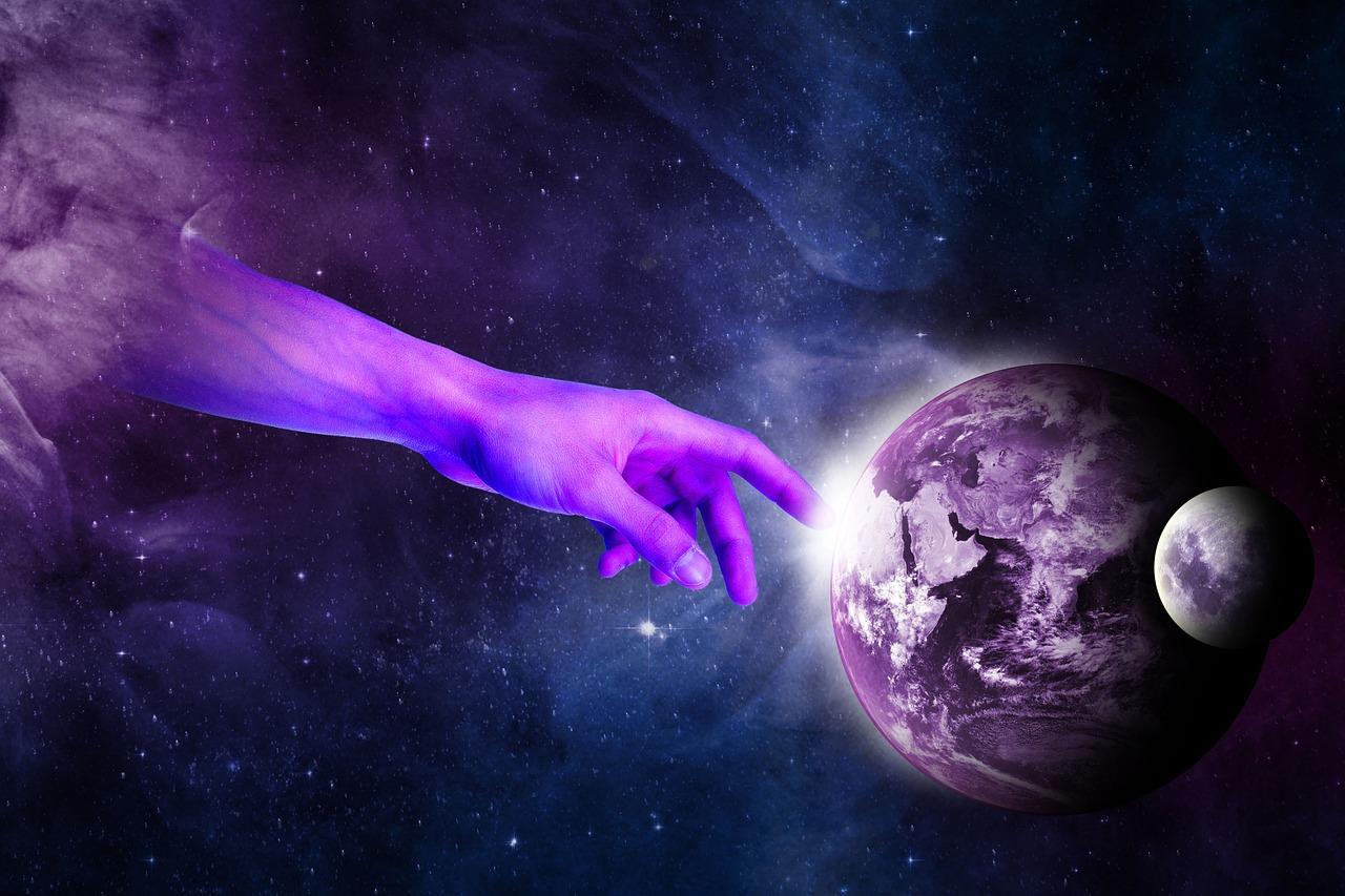 Création de l'univers; création spontanée ou principe créateur?