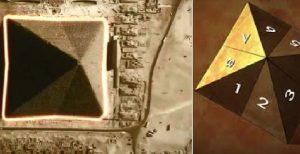 la construction des pyramides alignés avec les points cardinaux alimente les théories