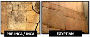 Les pyramides dans le monde semblent avoir les même ajustement de construction