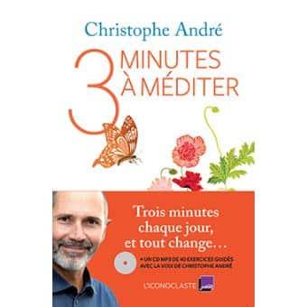 livre trois minutes à méditer