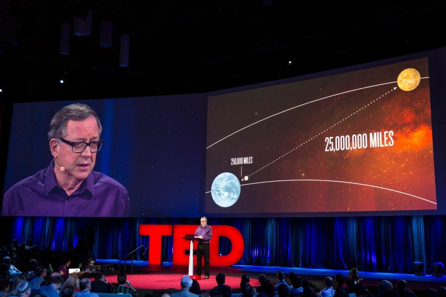 Stephen Petranek à la conférence comment vivre sur Mars?