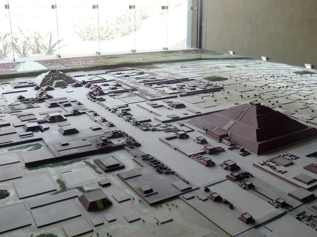 reconstitution de Teotihuacán