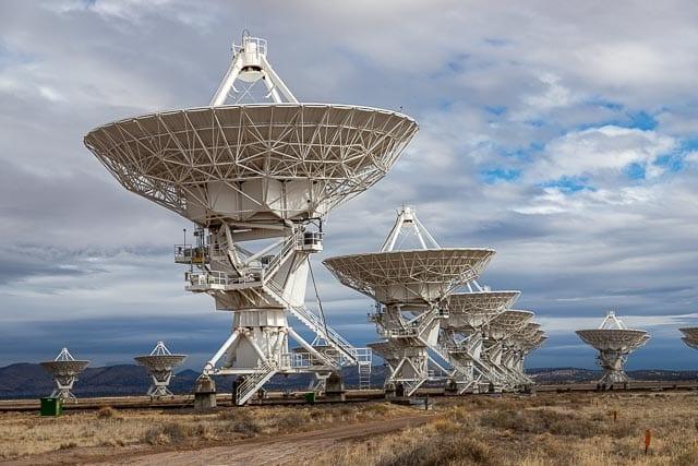 Recherche intelligence extra terrestre grâce au VLA