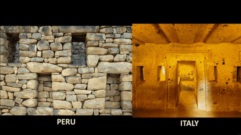 Même architecture entre ces deux continents