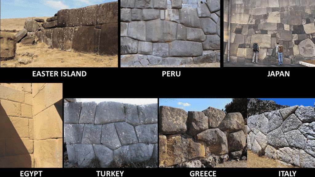 ajustement parfait des pierres est une des similitudes retrouvées chez les civilisations anciennes