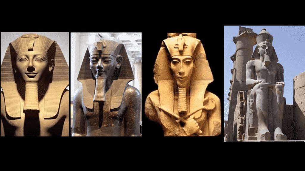 Le serpent est également représenté chez les divinités Égyptienne