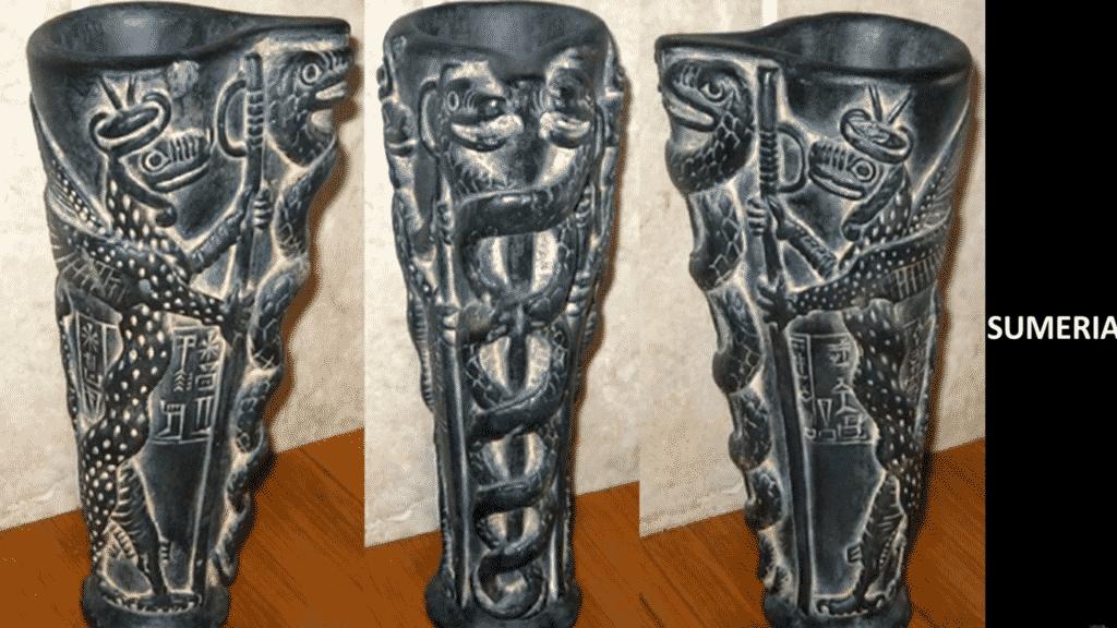 Symbole Sumérien identique aux Grecques