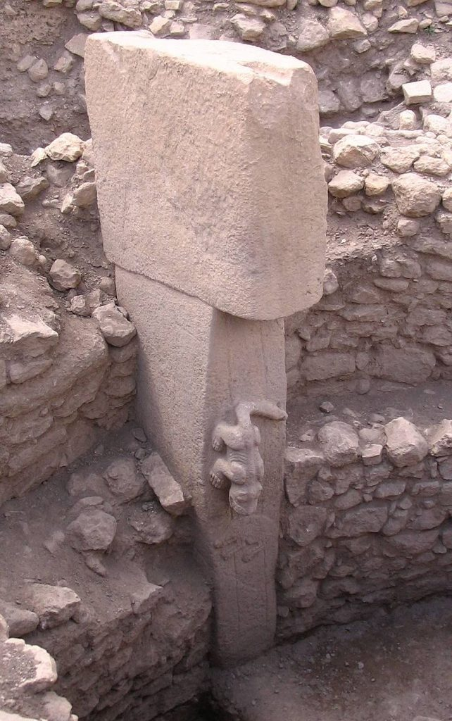 animaux sculptés a Göbekli Tepe