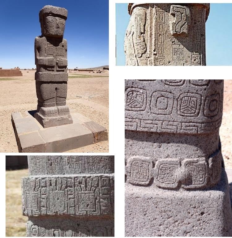 Le monolithe de Ponce a Puma Punku