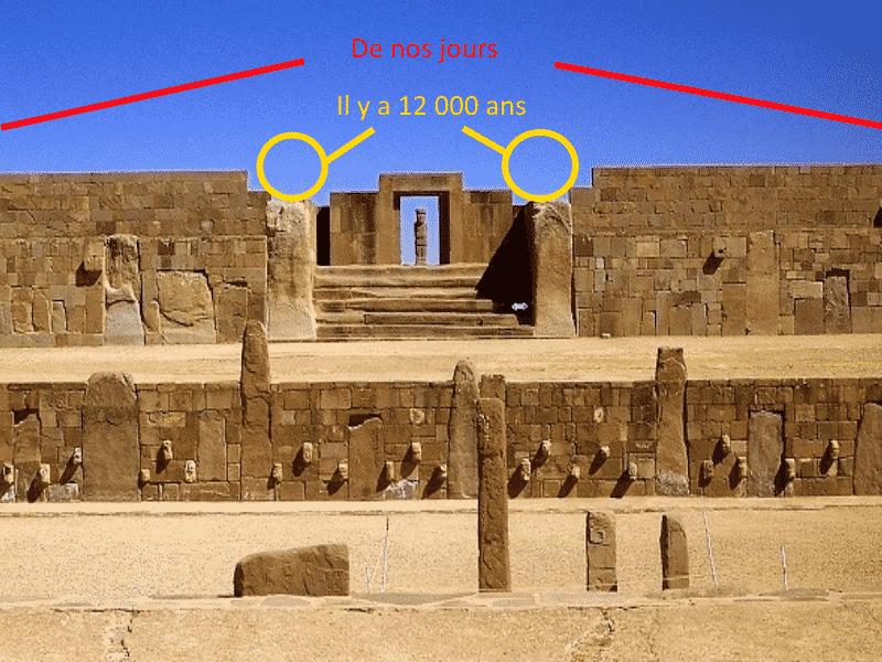 Porte du temple de Kalasasaya Puma Punku