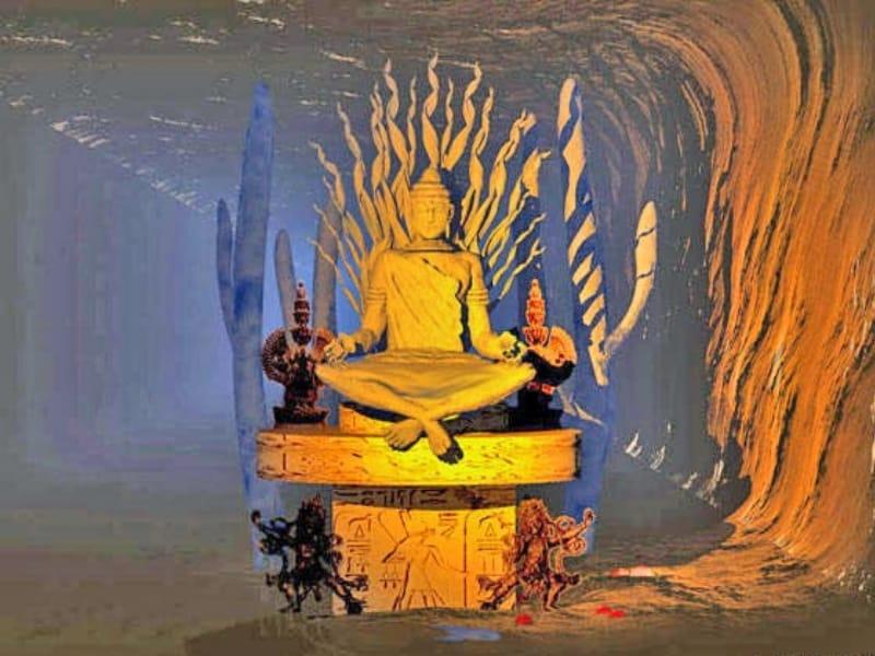 Bouddha découvert en Arizona selon Kinkaid