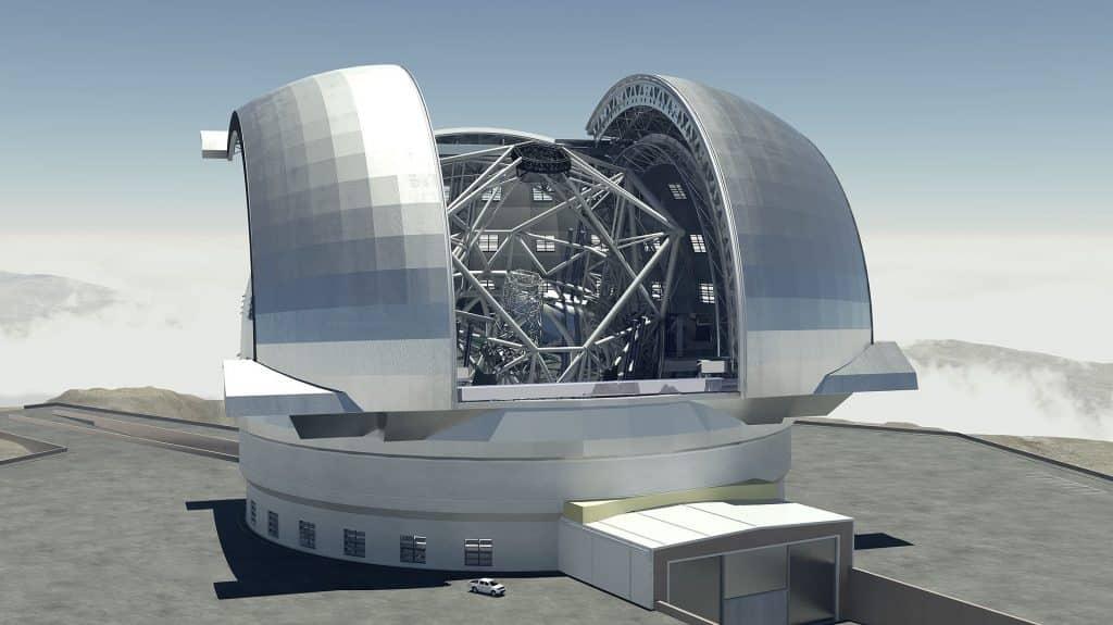 télescope extrêmement grand (ELT) de l'ESO