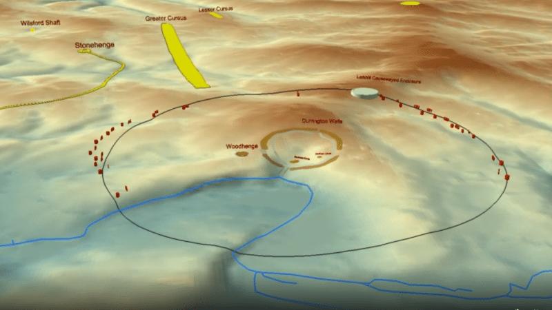 découverte à Stonehenge d'un cercle de puits