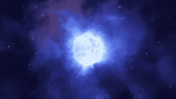 Une étoile massive disparaît sans laisser de traces.