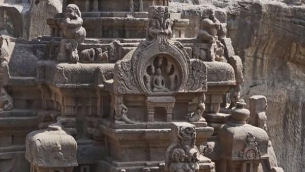 Un temple dédié au Dieu Shiva