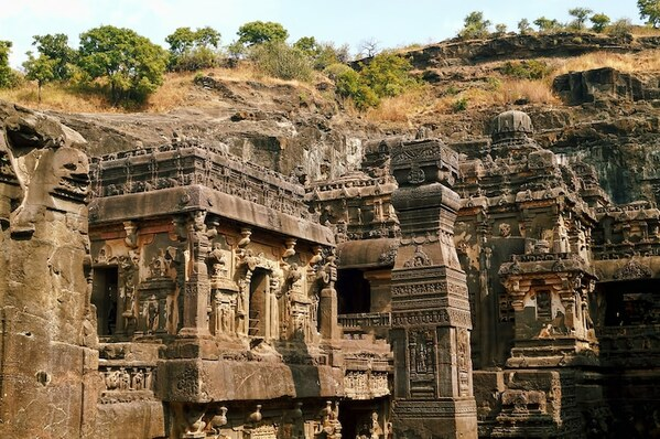 gravure temple kailasa