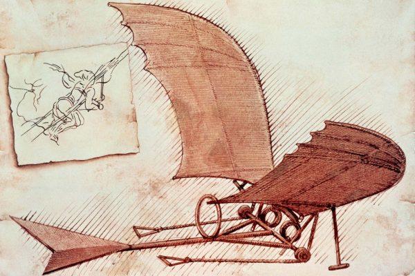 Leonard de vinci et le biomimétisme