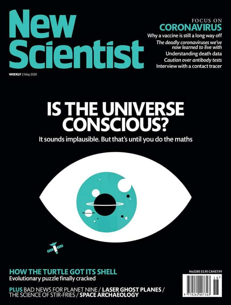 Couverture du magasine new scientist conscience de l'univers