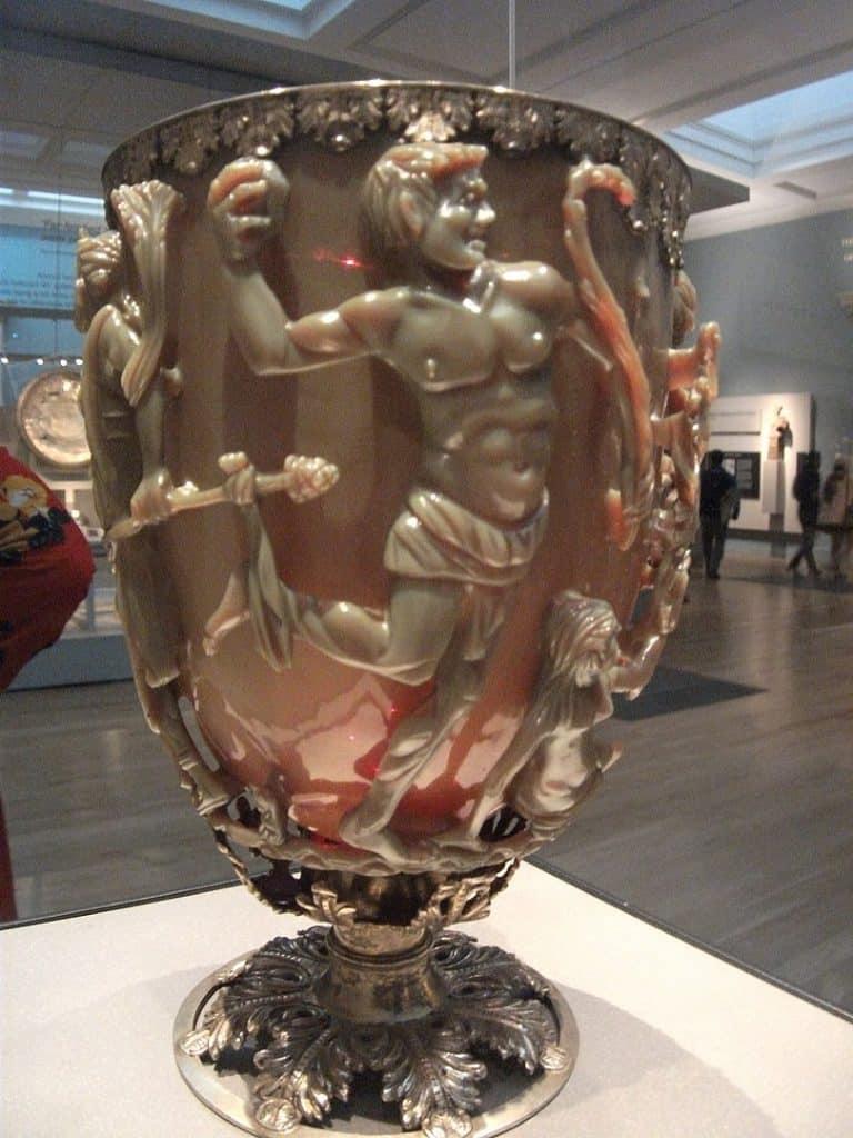 La coupe de Lycurgue au British Museum