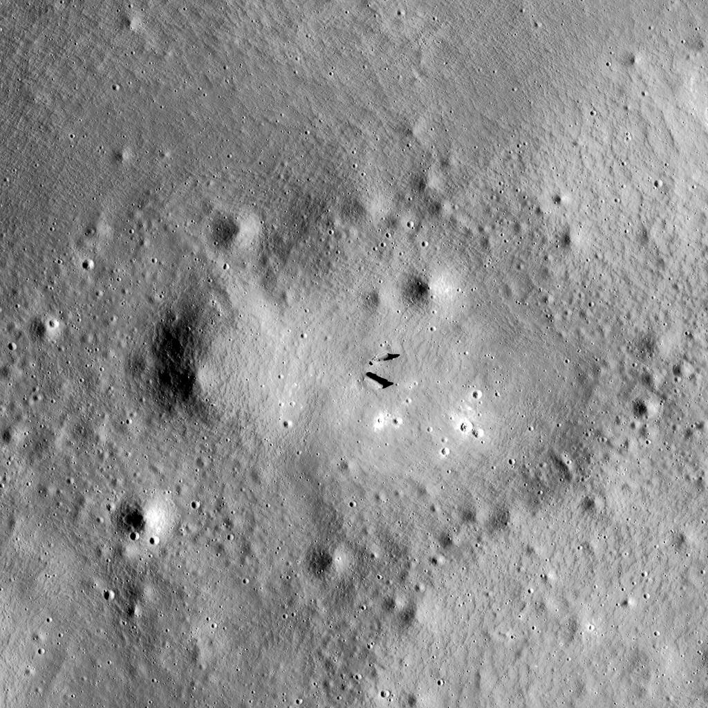 Construction sur la lune de possibles vestiges d'une civilisation extraterreste