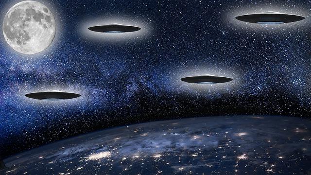 activité extraterrestre sur la lune