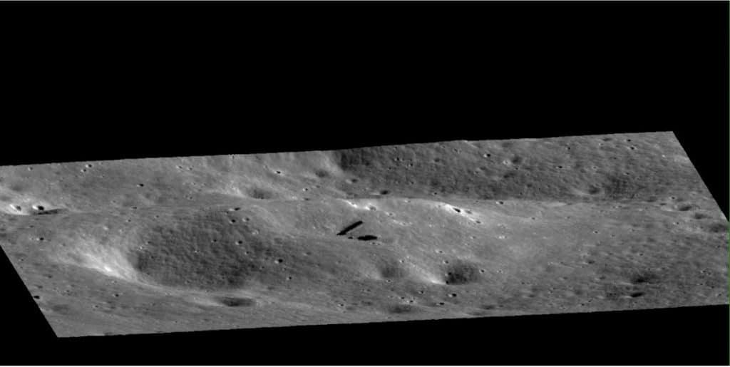 signe d'activité technologique extraterrestre sur la lune