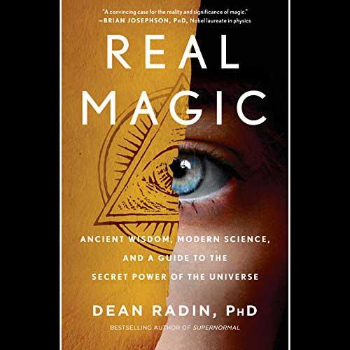 livre real magic Dean Radin