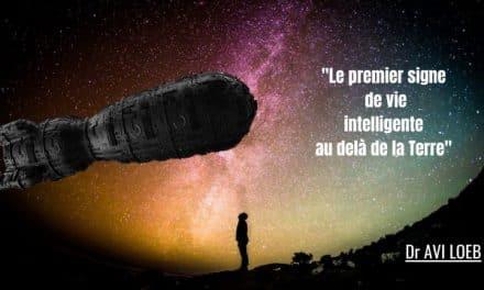 Oumuamua l'hypothèse extraterrestre ne devrait pas être écartée.