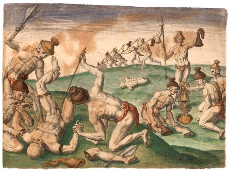 illustration des actes de barbaries