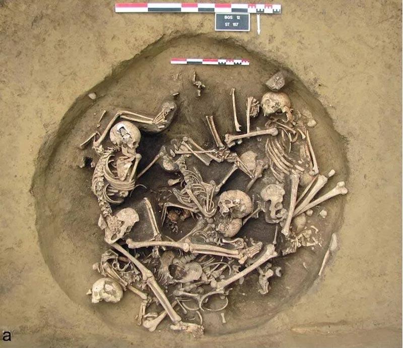 une découverte archéologiques surprenante qui révèle une extrême violence