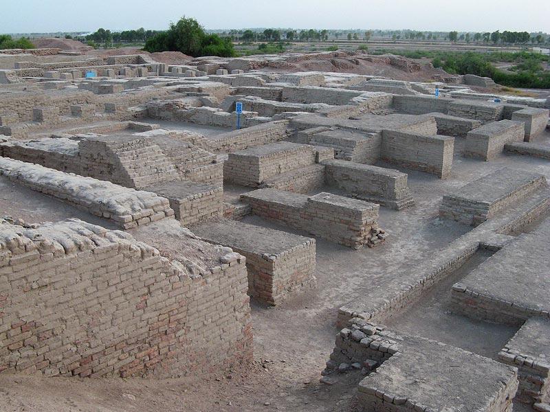 Le site de Mohenjo-daro au pakistan abritait d'anciennes civilisations