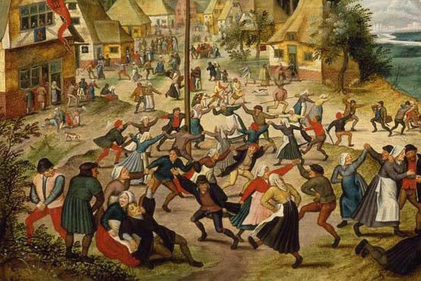 folie dansante Strasbourg 1518