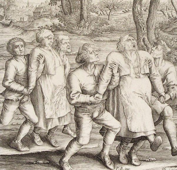 épidémie dansante 1518