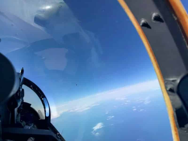 image ovni pilot us navy