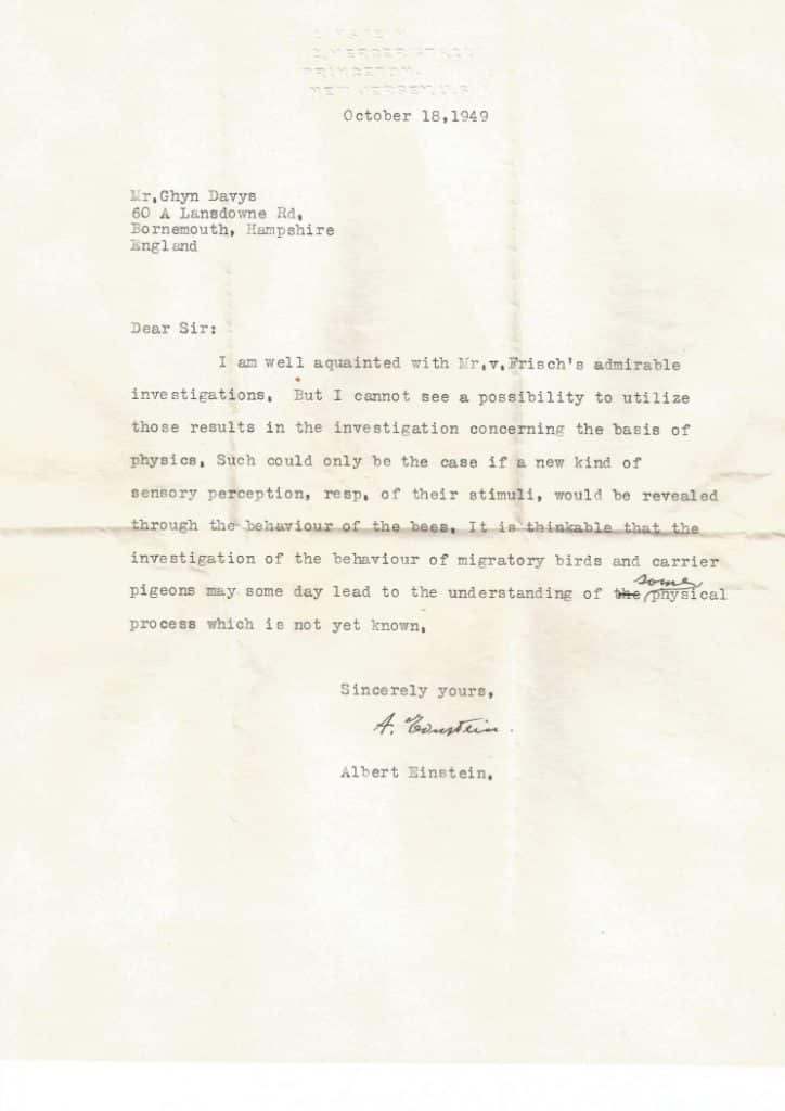 La lettre perdue d'Einstein