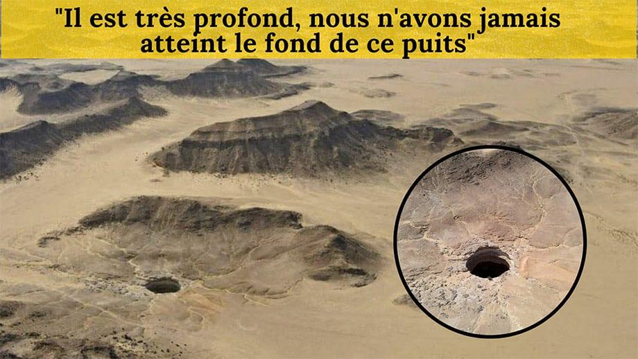Au Yémen, un mystérieux «puits de l'enfer» fascine les géologues