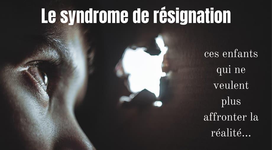 Le syndrome de résignation, une étrange maladie qui touche la conscience.