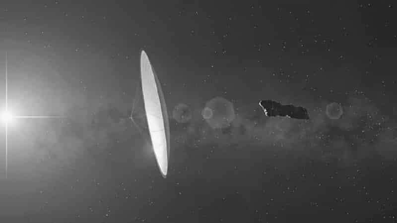 Oumuamua pourrait être une technologie extraterrestre