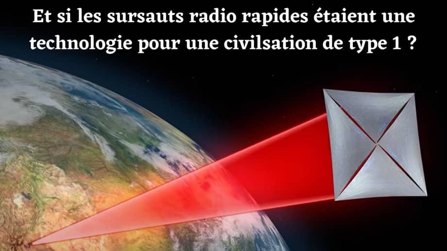 Une technologie extraterrestre à l'origine des sursauts radio rapides ?