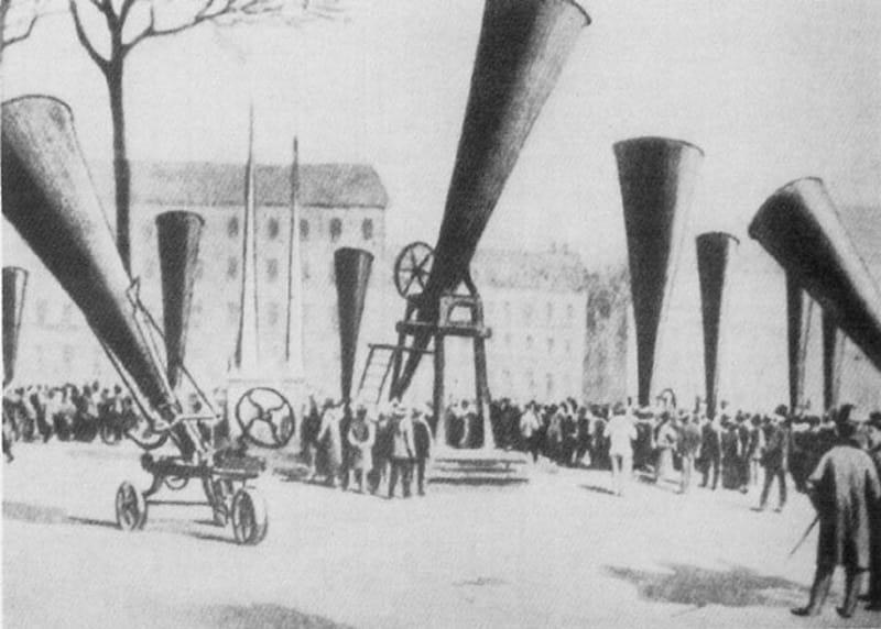 Le premier projet de géo ingénierie au XIX è siècle.
