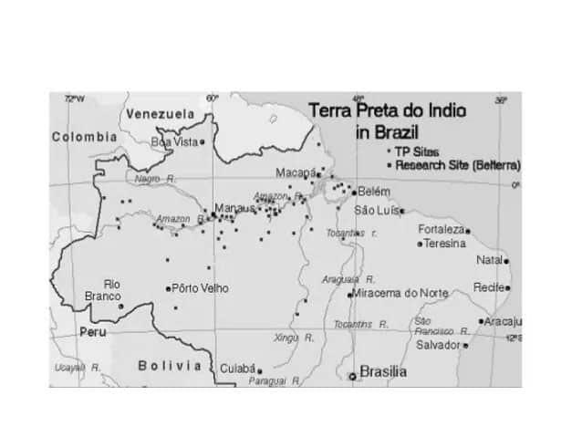 Les parcelles de Terra Preta en Amazonie suggère l'existence d'une grande civilisation disparue en Amazonie.