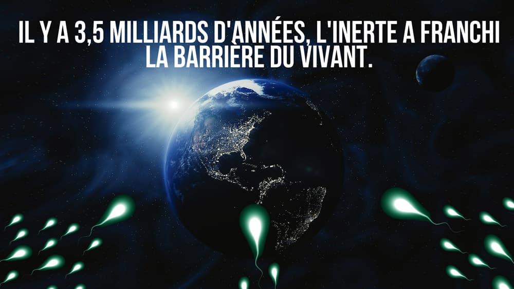L'origine de la vie sur Terre, une contamination extraterrestre ?