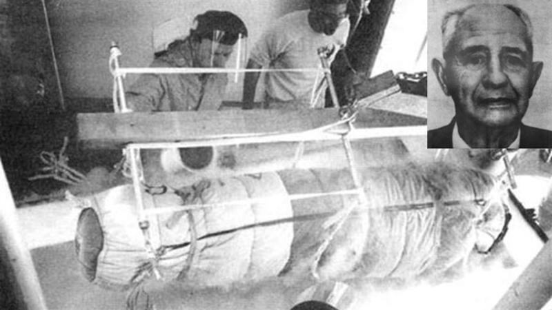 Le premier cryogénisation humaine avec le Dr Bedford.