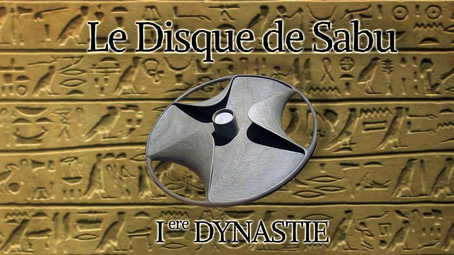Le disque de Sabu, un étrange artefact de l'égypte ancienne