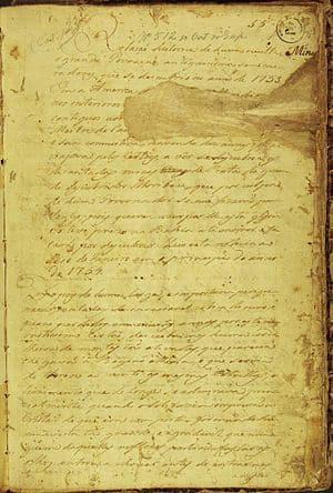 Le manuscrit 512 mentionne la découverte d'une cité perdue en Amazonie.