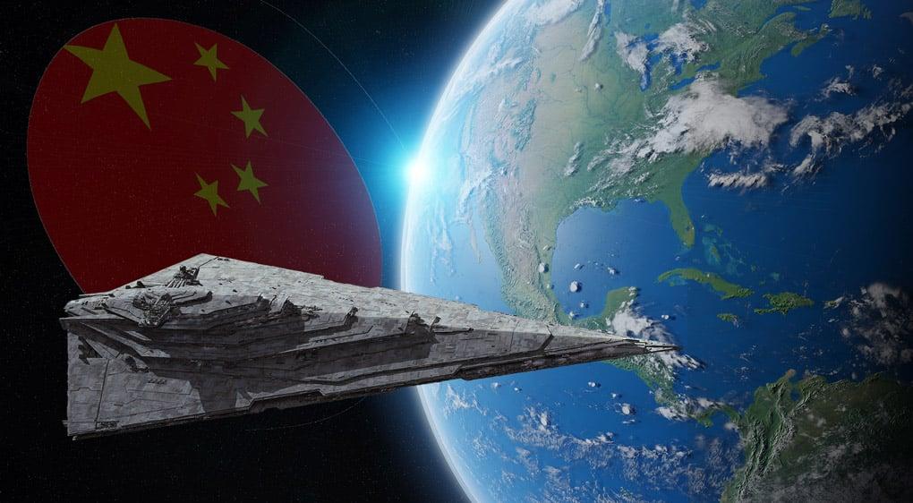 La Chine envisage un vaisseau spatial d'une portée de plusieurs kilomètres
