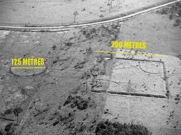 Le site de Fazenda Atlântica mis au jour par la déforestation en Amazonie, renferme des géoglyphes