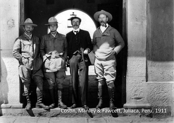 Percy Fawcett et ses compagnons les plus fidèles.